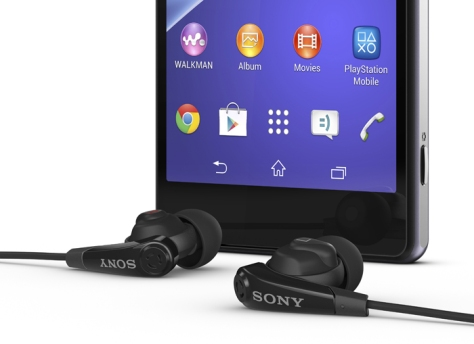 sony-xperia-z2-hphones ear phones earphones