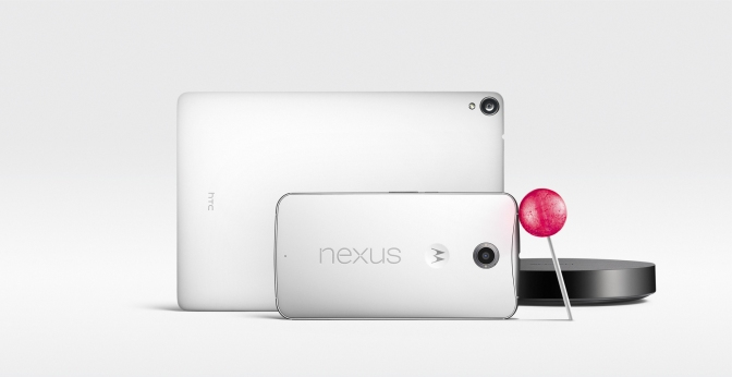 Google unveils the Nexus 6, 9 and Player
