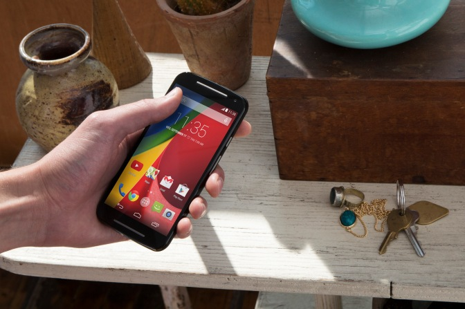 Moto G (2014) available in Singapore for S$298